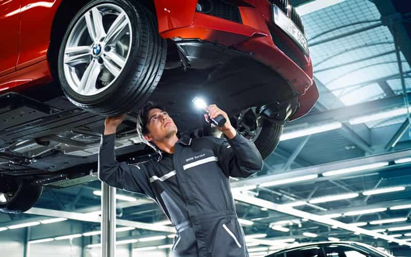 BMW Schedule Service