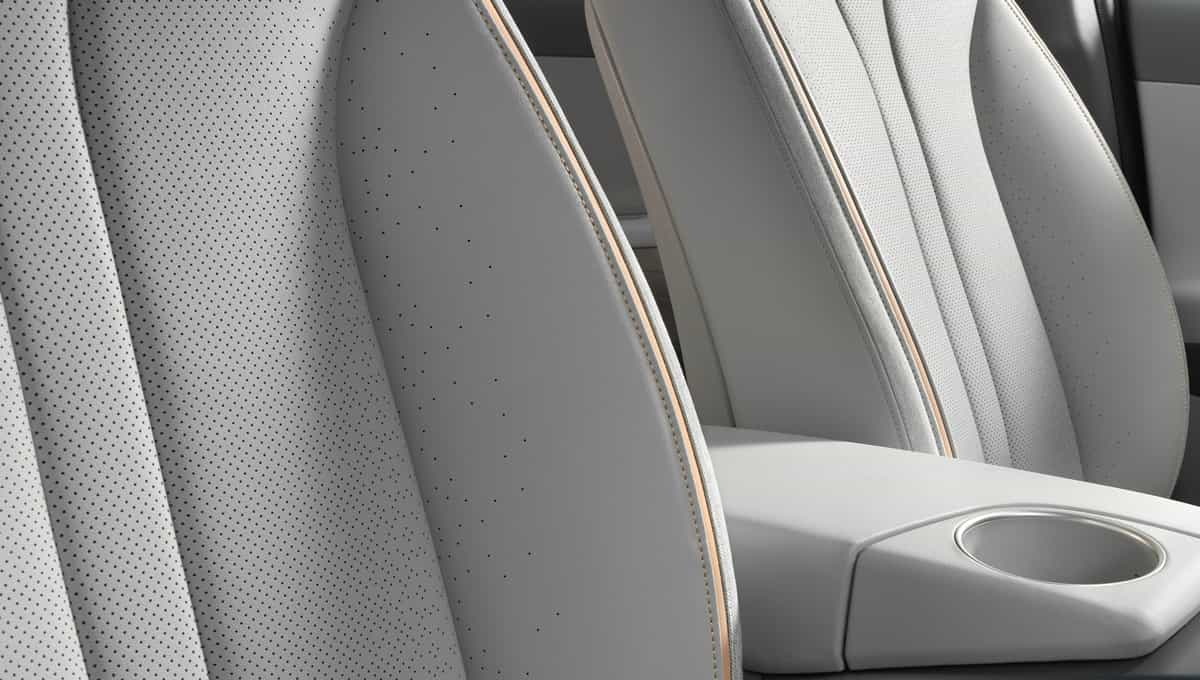 Ventilated and heated front seats