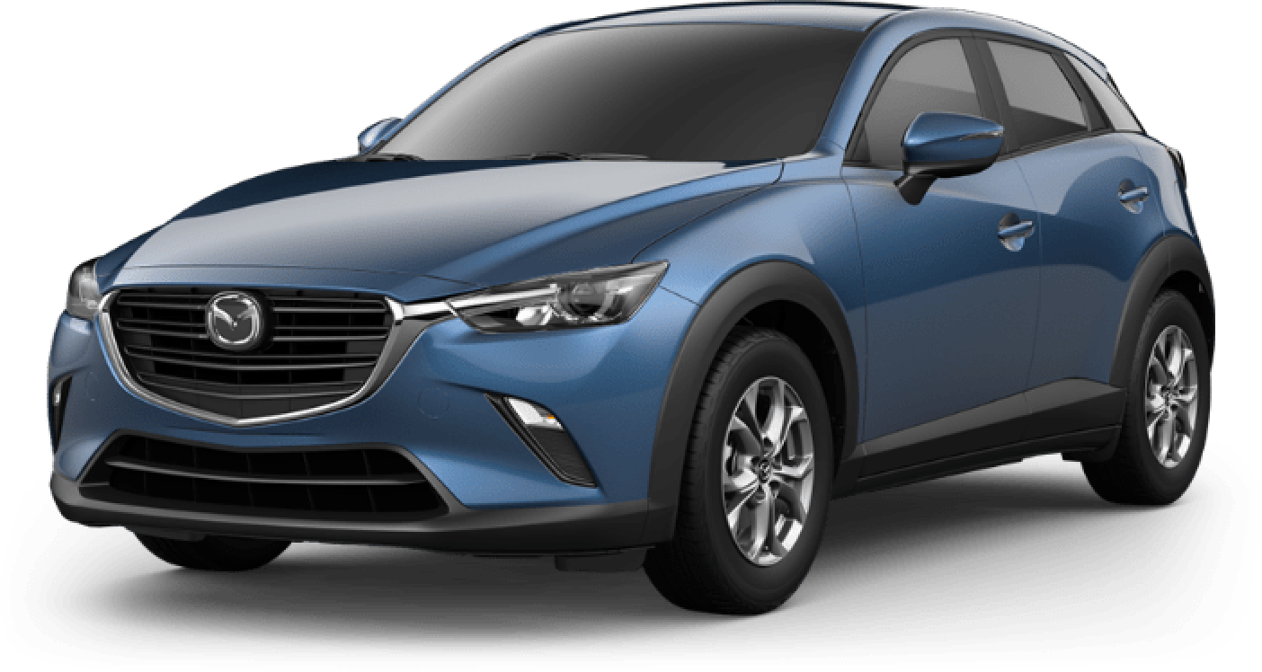2020 CX-3, Eternal Blue Mica