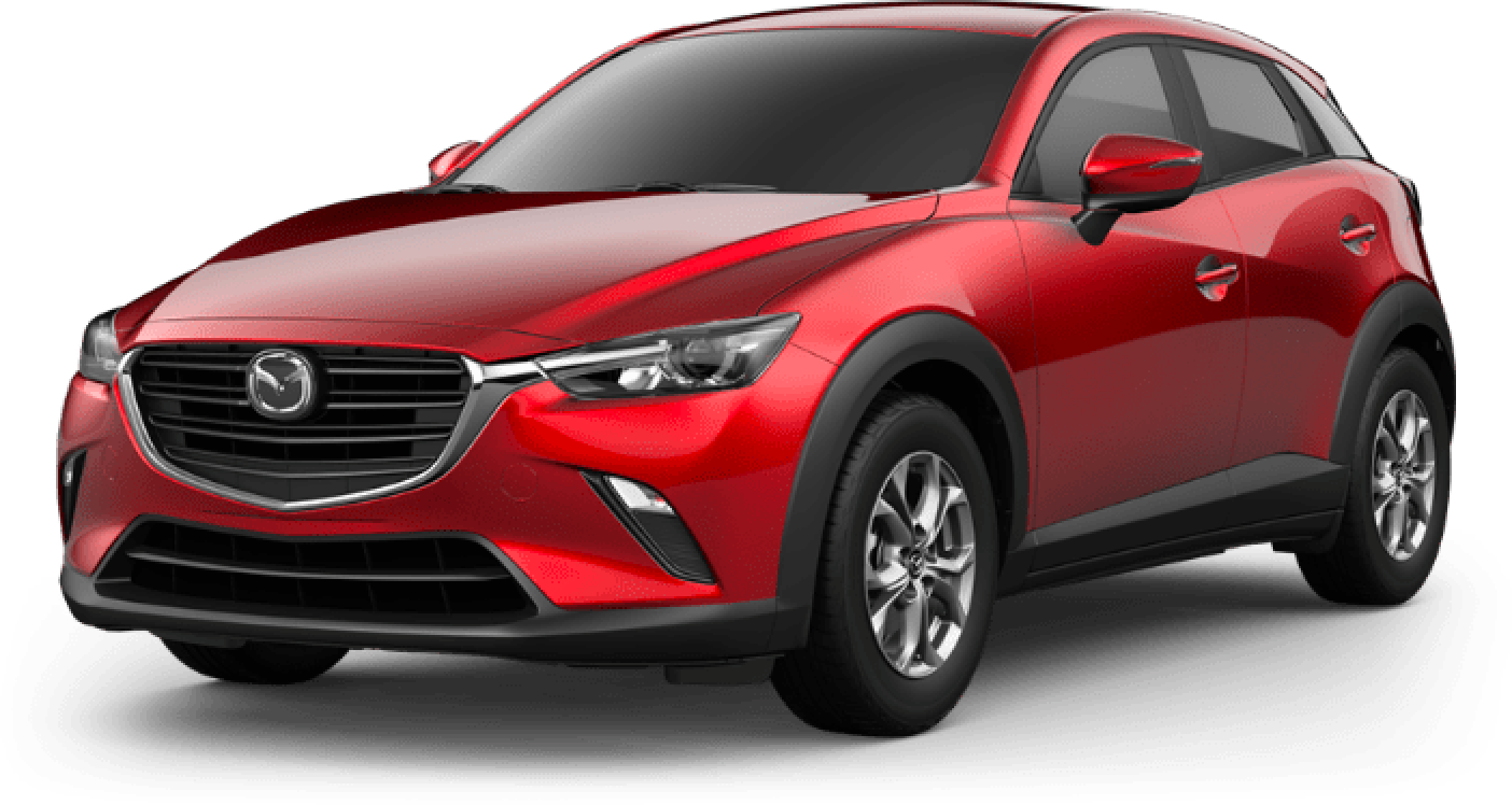 2020 CX-3, Soul Red Crystal Metallic