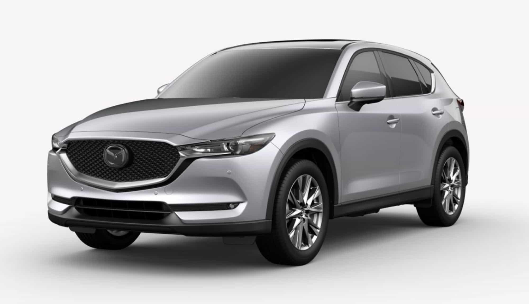 2020 CX-5, Sonic Silver Mica