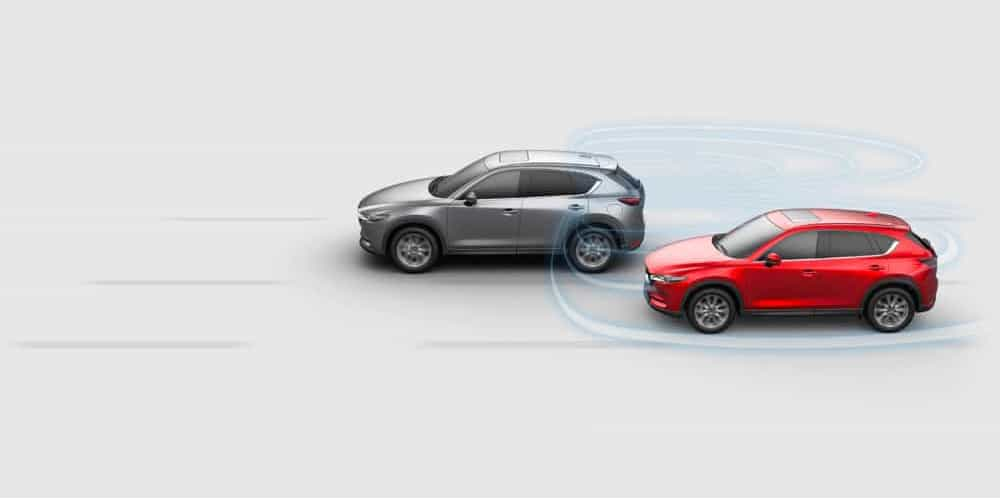 BLIND SPOT MONITORING - CX-5