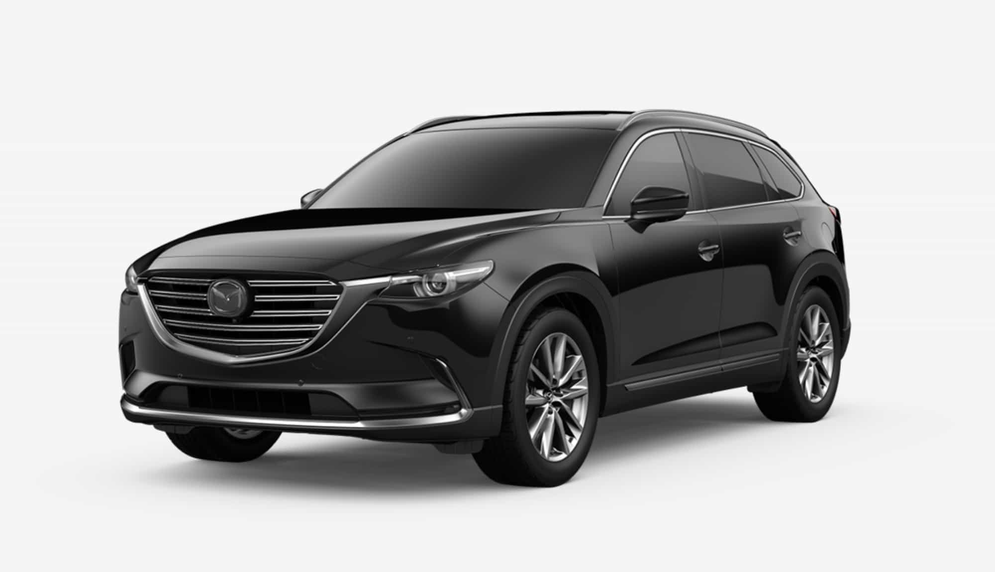 2020 CX-9, Jet Black Mica