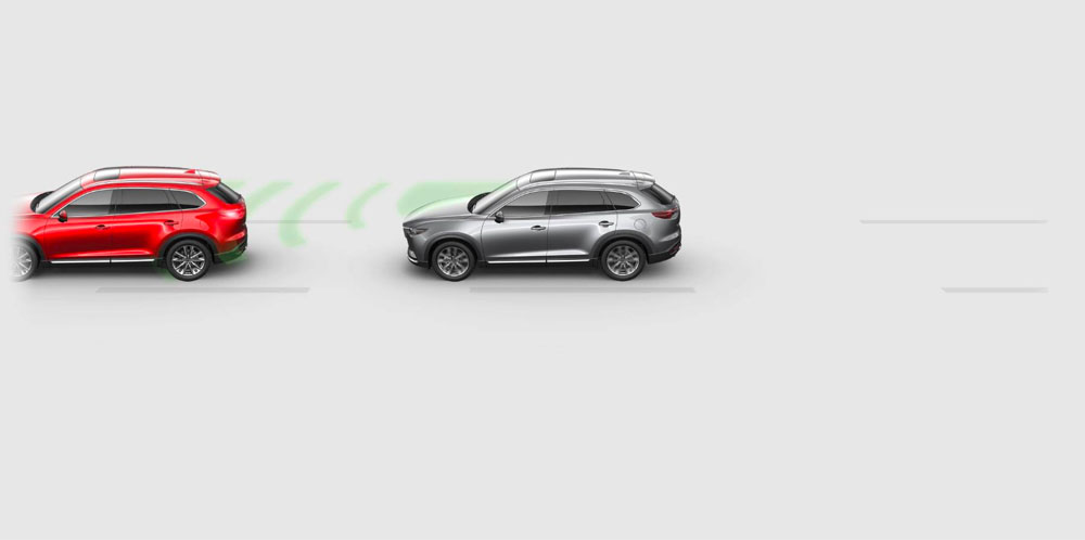 ADV. SMART CITY BRAKE SUPPORT W/ PED. DETECTION - CX-9