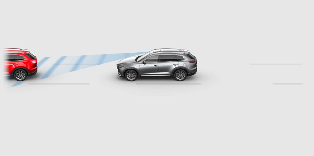 SMART BRAKE SUPPORT WITH COLLISION WARNING - CX-9