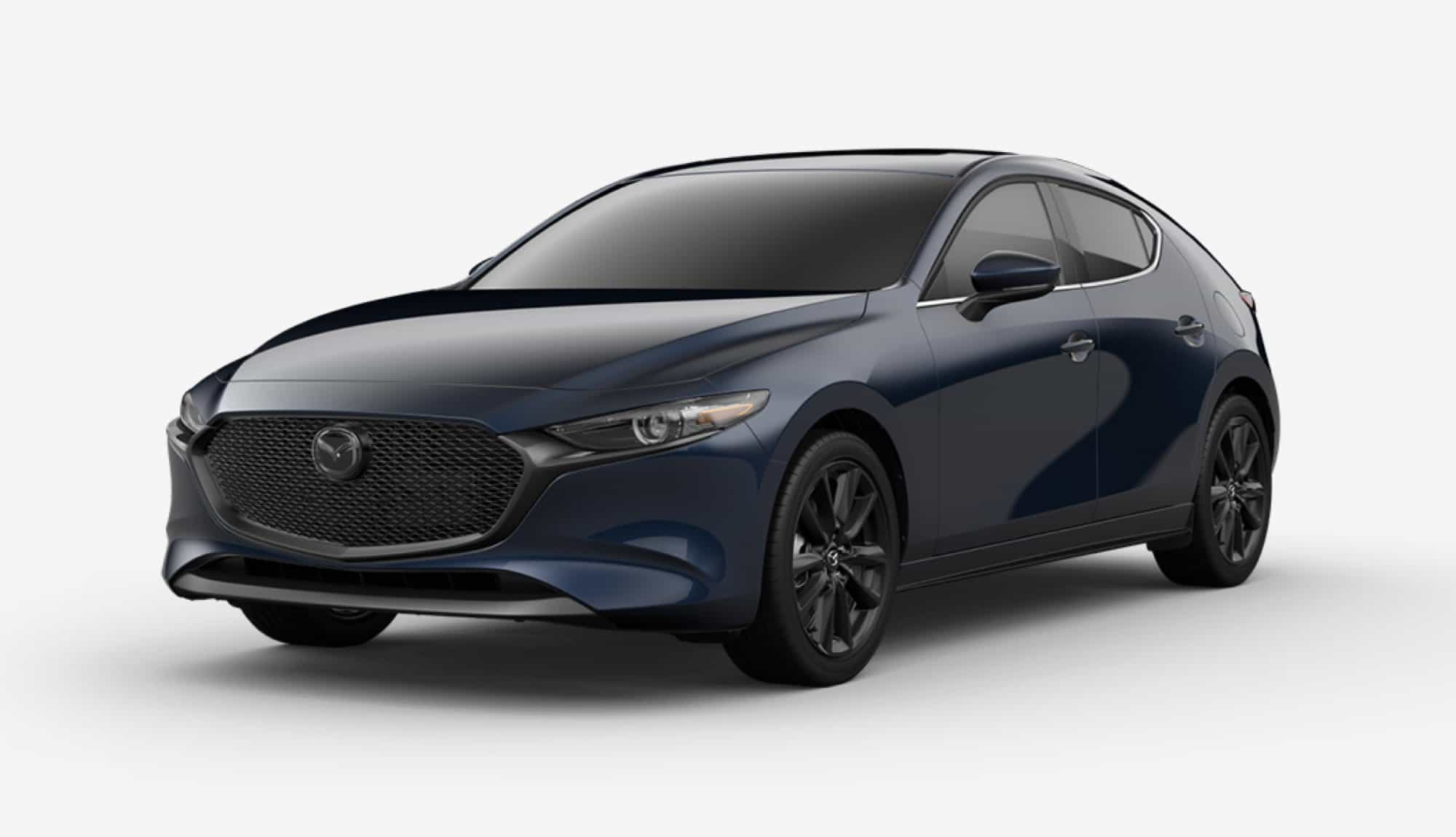 2020 Mazda3 Hatchback, Deep Crystal Blue Mica
