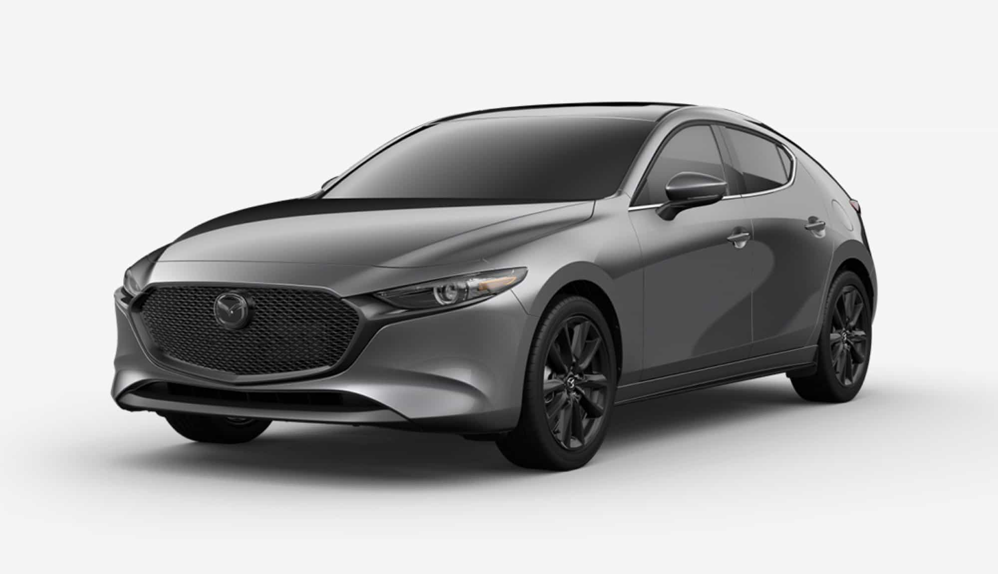 2020 Mazda3 Hatchback, Machine Gray Metallic