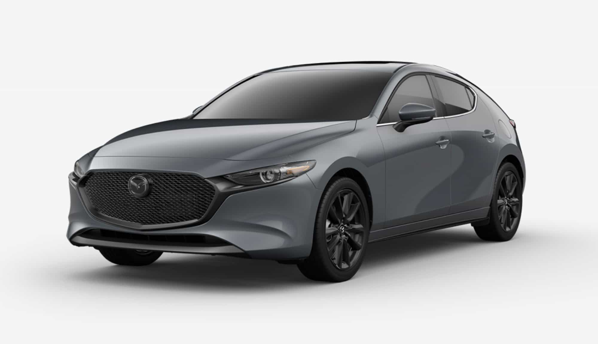 2020 Mazda3 Hatchback, Polymetal Gray Metallic