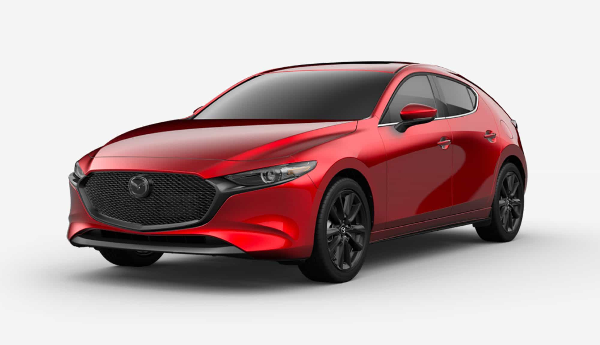 2020 Mazda3 Hatchback, Soul Red Crystal Metallic