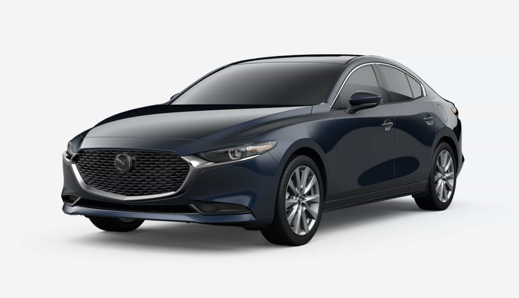 2020 Mazda3 Sedan, Deep Crystal Blue Mica