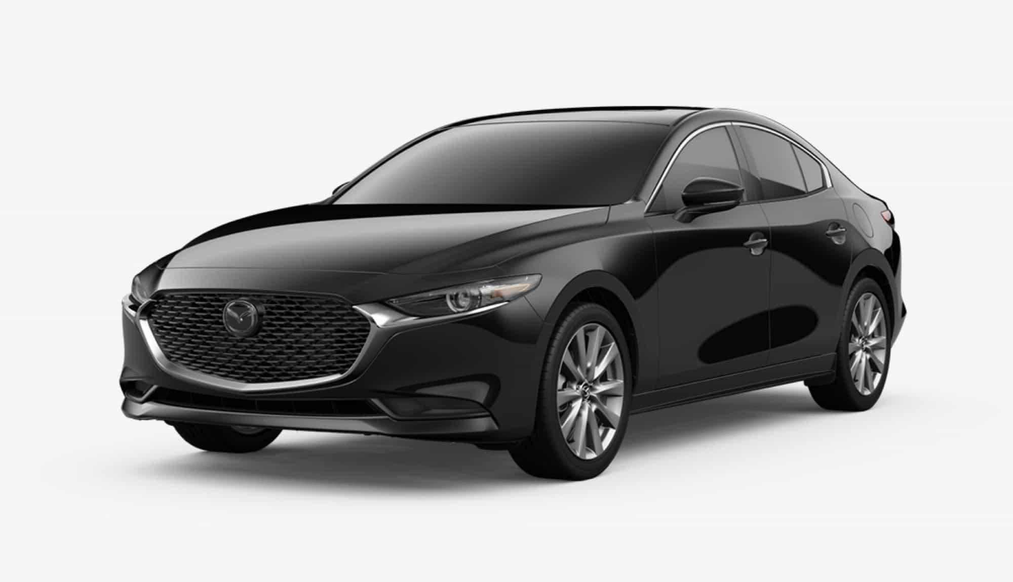 2020 Mazda3 Sedan, Jet Black Mica