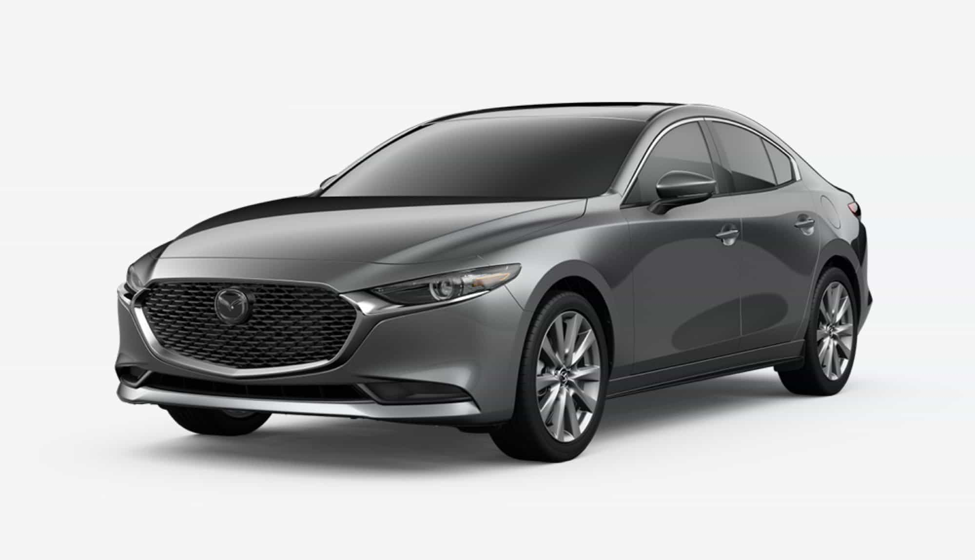 2020 Mazda3 Sedan, Machine Gray Metallic
