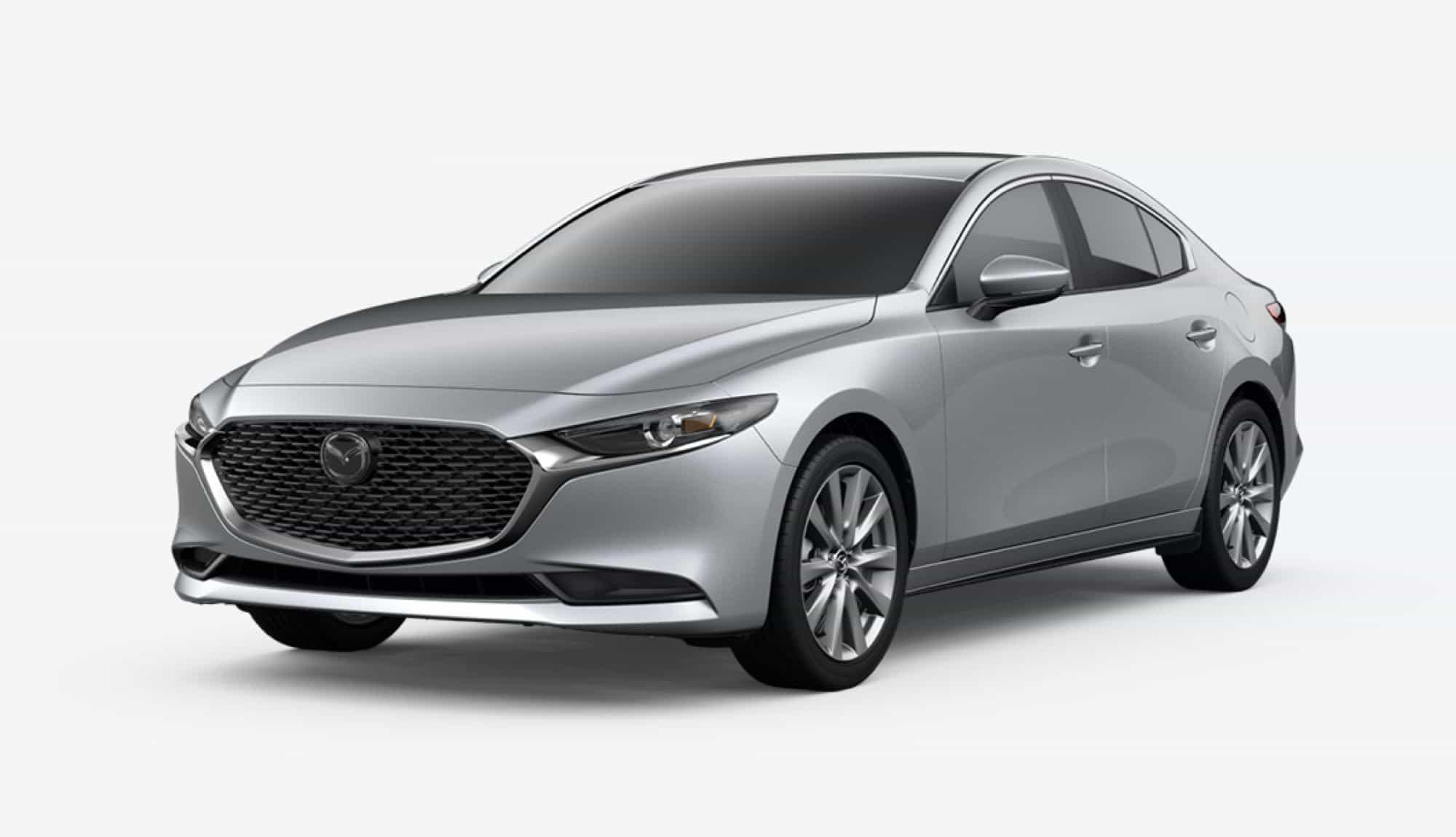2020 Mazda3 Sedan, Sonic Silver Metallic