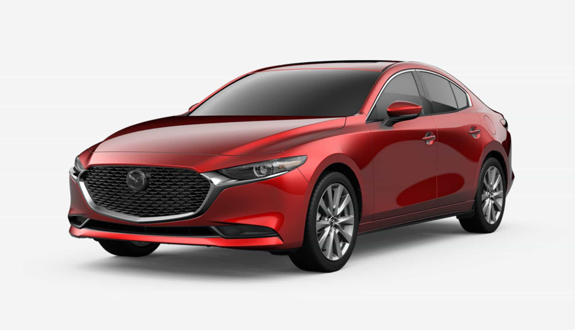 2020 Mazda3 Sedan, Soul Red Crystal Metallic