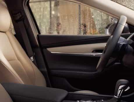 2020 Mazda3 Sedan, A QUIET RIDE
