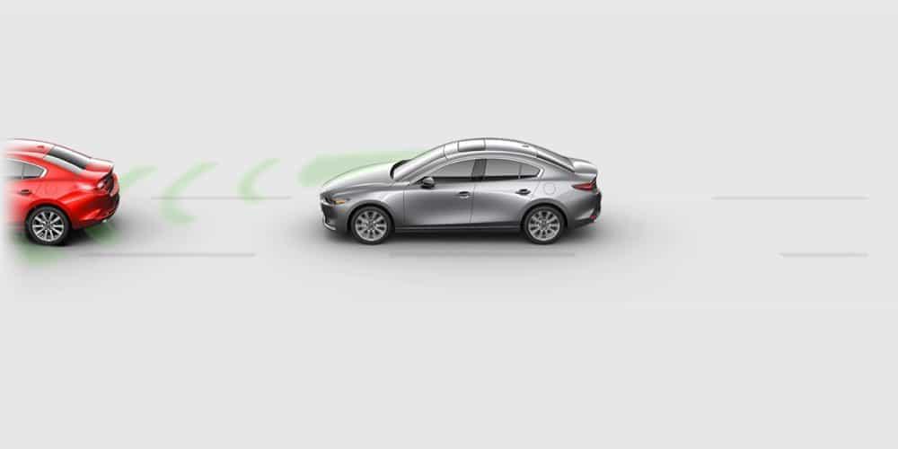 Smart Brake Support - Mazda3 Sedan