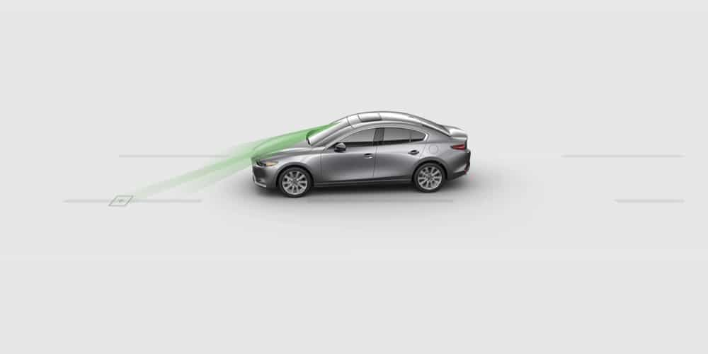 LANE DEPARTURE WARNING SYSTEM - Mazda3 Sedan