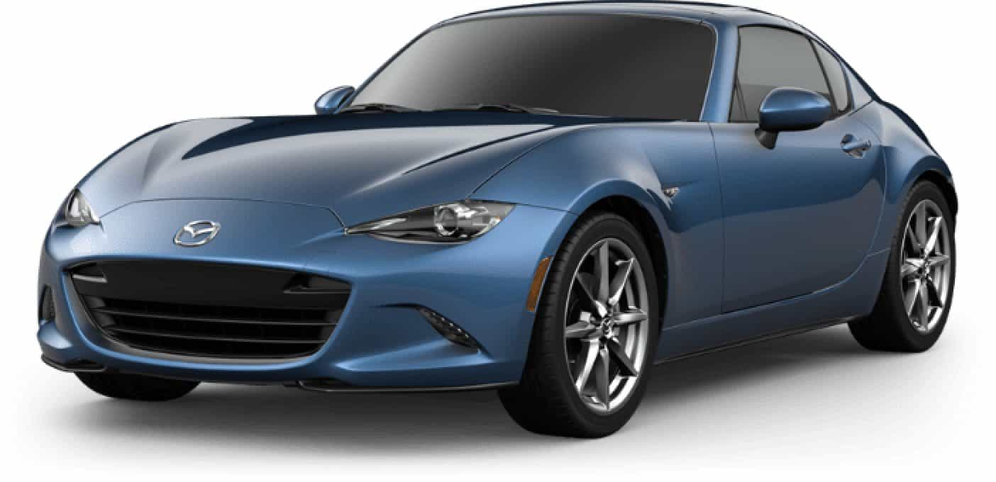 2020 MX-5 MIATA RF, Eternal Blue Mica