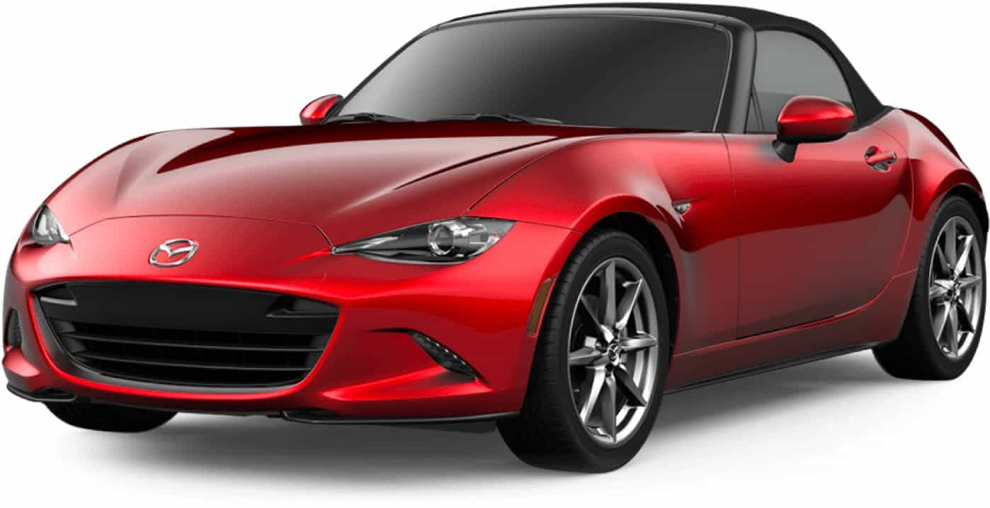 2020 MX-5 MIATA, Soul Red Crystal Metallic