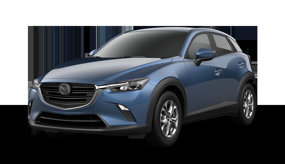 2021 Mazda CX-3, Eternal Blue Mica