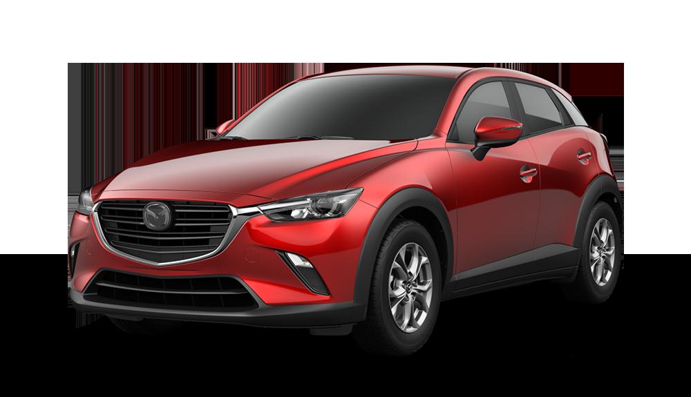 2021 Mazda CX-3, Soul Red Crystal Metallic