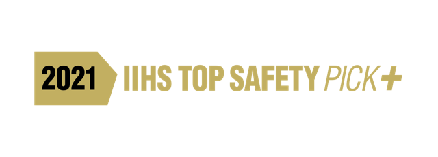 2021 IIHS TOP SAFETY PICK+