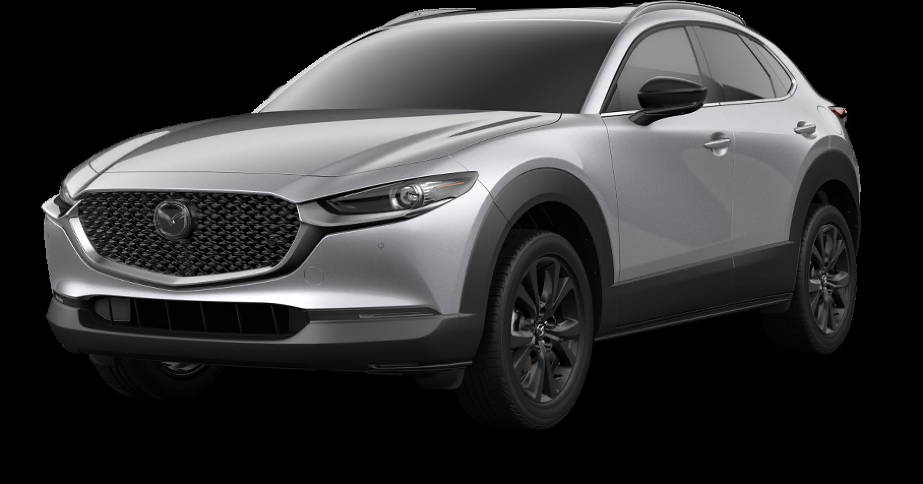 2021 Mazda CX-30, Sonic Silver Metallic