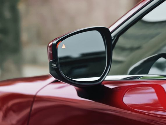 2021 Mazda CX-30, BLIND SPOT MONITORING