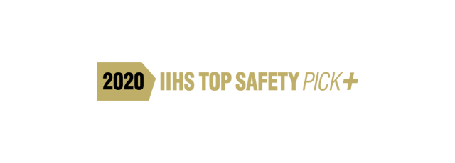 2020 IIHS TOP SAFETY PICK+