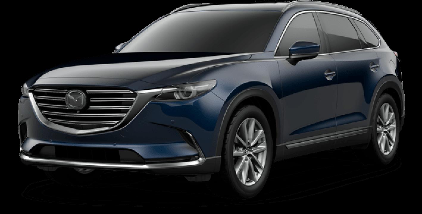 2021 Mazda CX-9, Deep Crystal Blue Mica