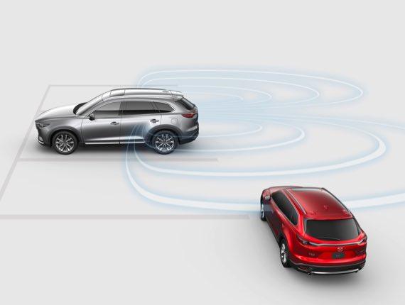 2021 Mazda CX-9, BLIND SPOT MONITORING W/ REAR CROSS TRAFFIC ALERT