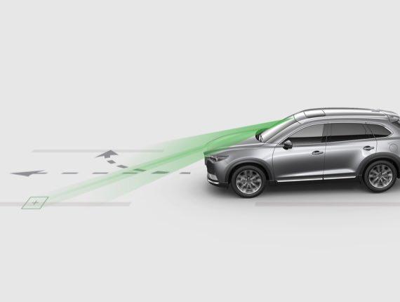 2021 Mazda CX-9, LANE-KEEP ASSIST