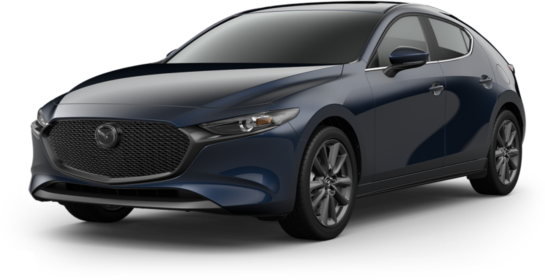 2021 Mazda3 Hatchback, Deep Crystal Blue Mica