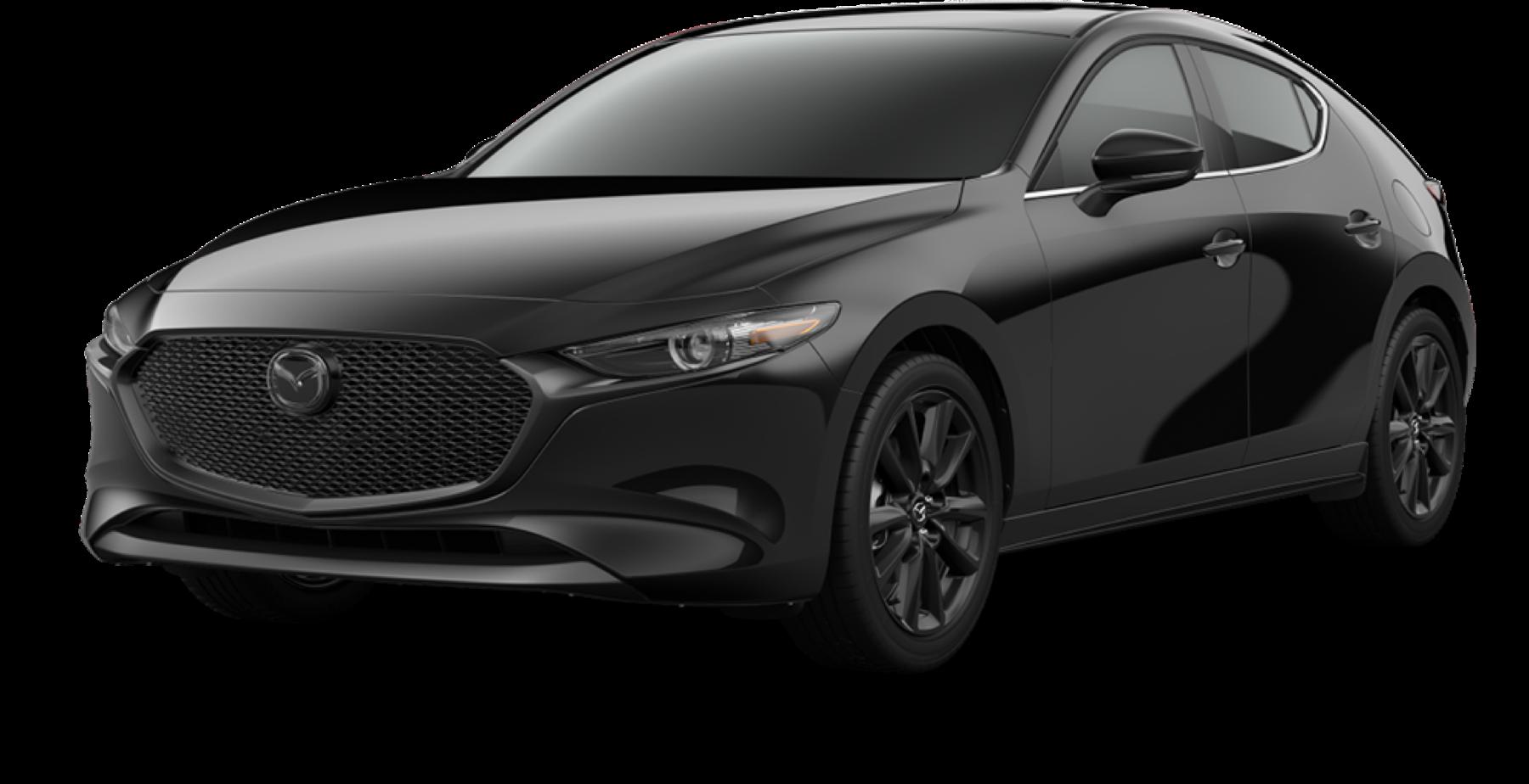 2021 Mazda3 Hatchback, Jet Black Mica