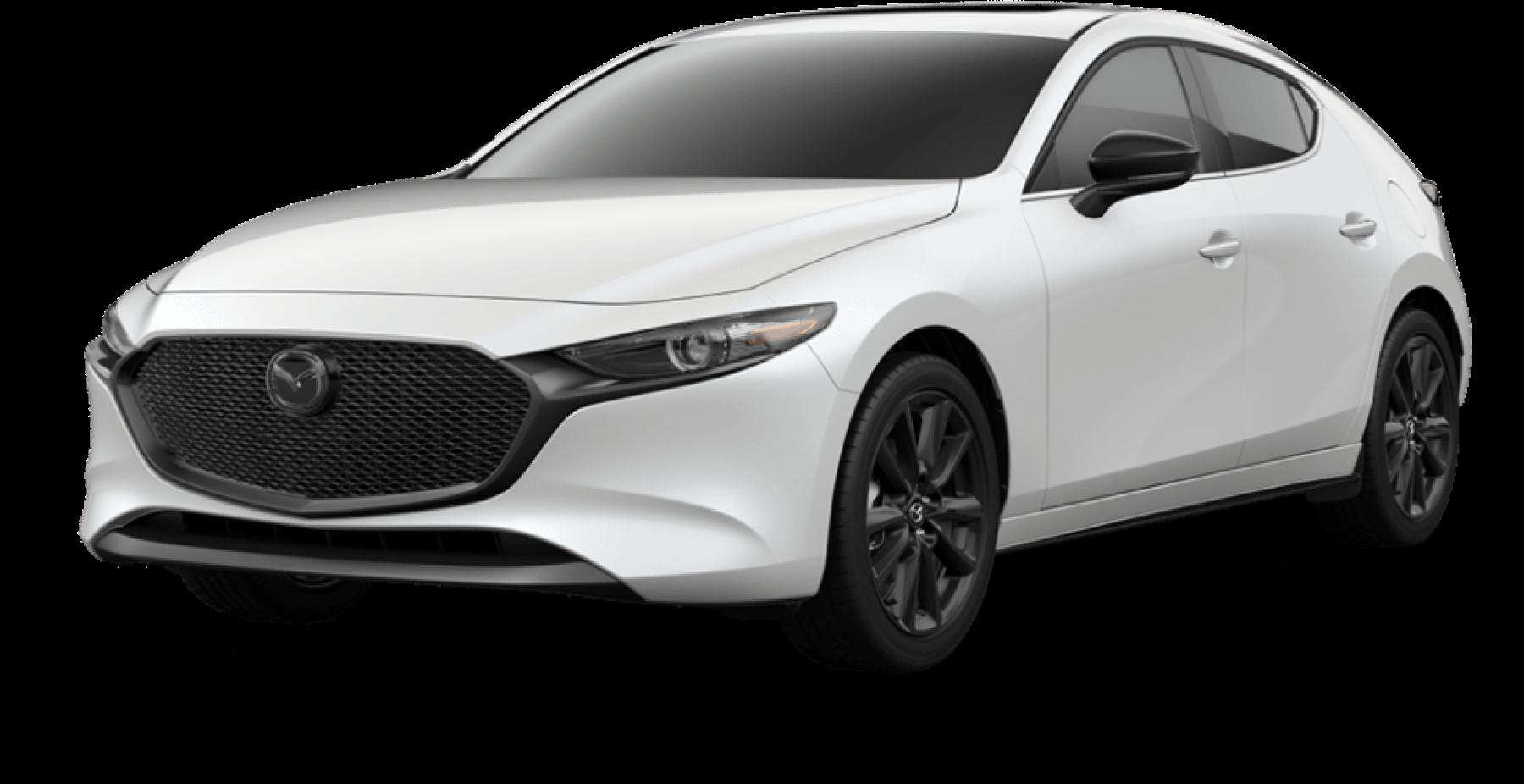 2021 Mazda3 Hatchback, Snowflake White Pearl Mica