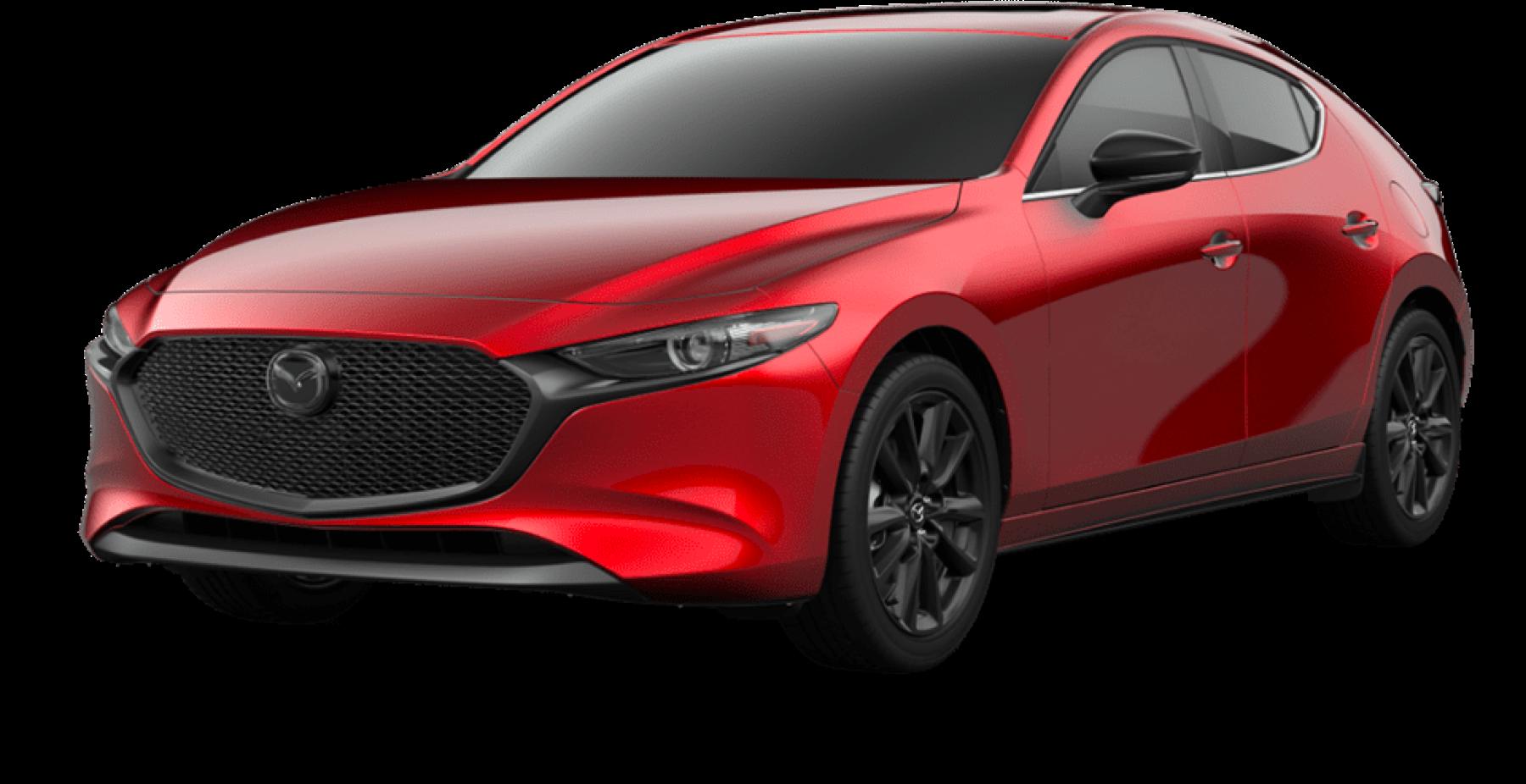 2021 Mazda3 Hatchback, Soul Red Crystal Metallic