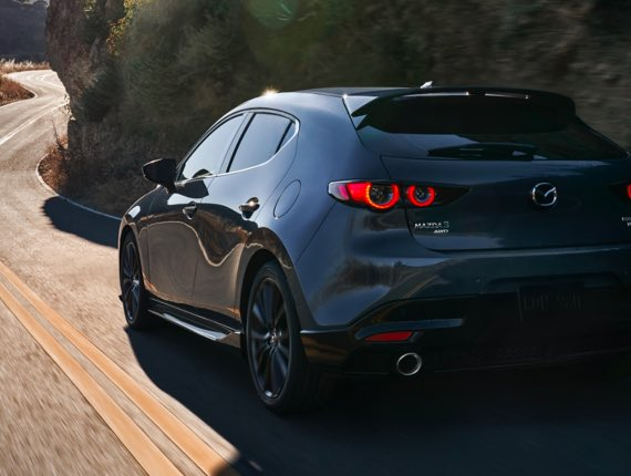 2021 Mazda3 Hatchback, THE EXCLAMATION MARKS OF TURBO