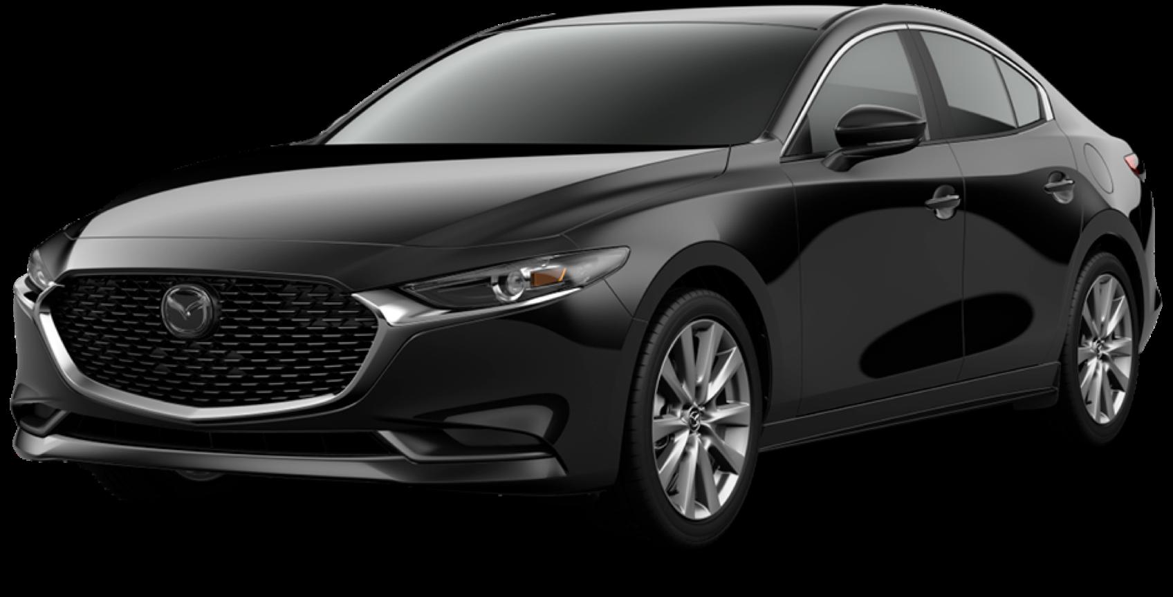2021 Mazda3 Sedan, Jet Black Mica