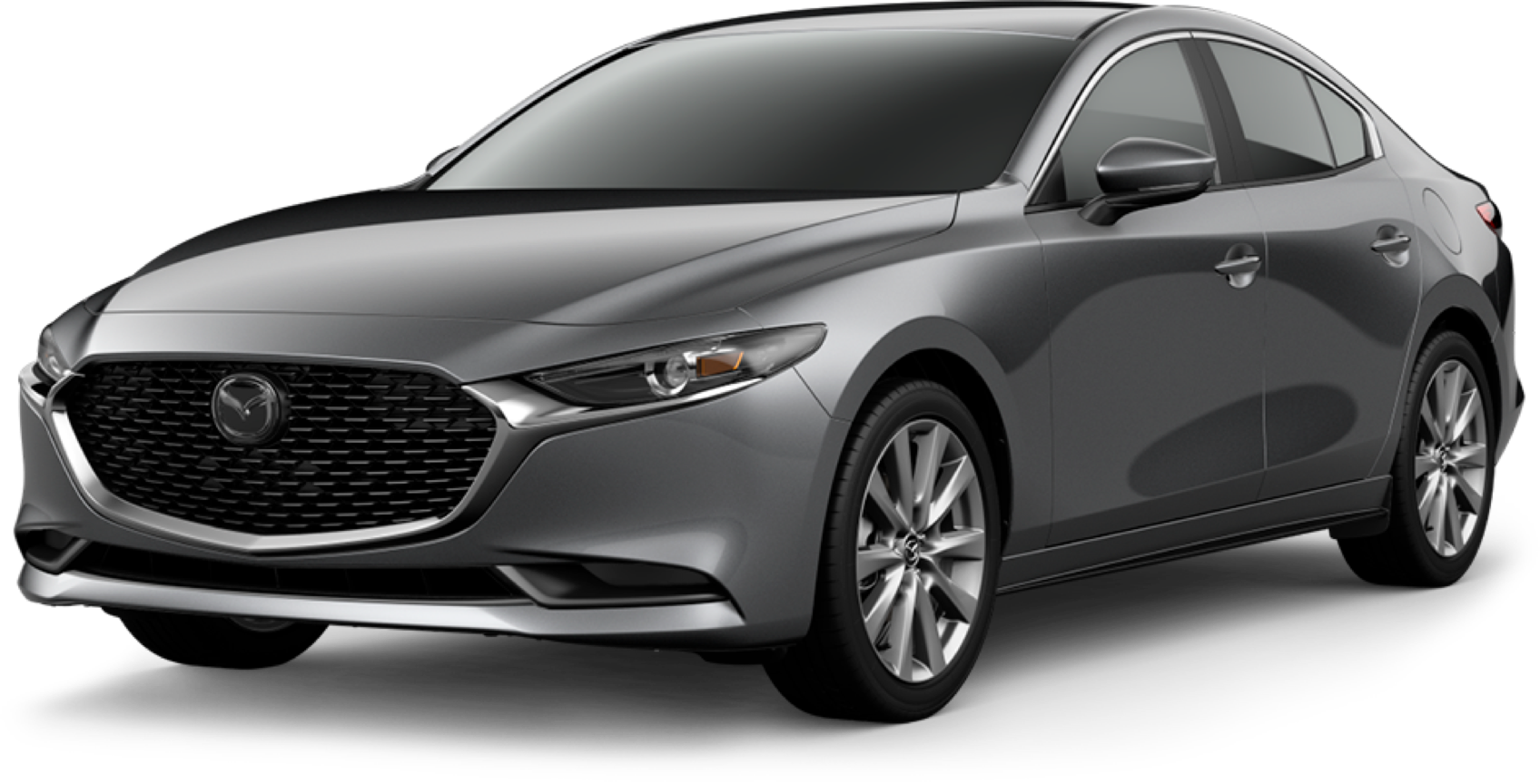 2021 Mazda3 Sedan, Machine Gray Metallic