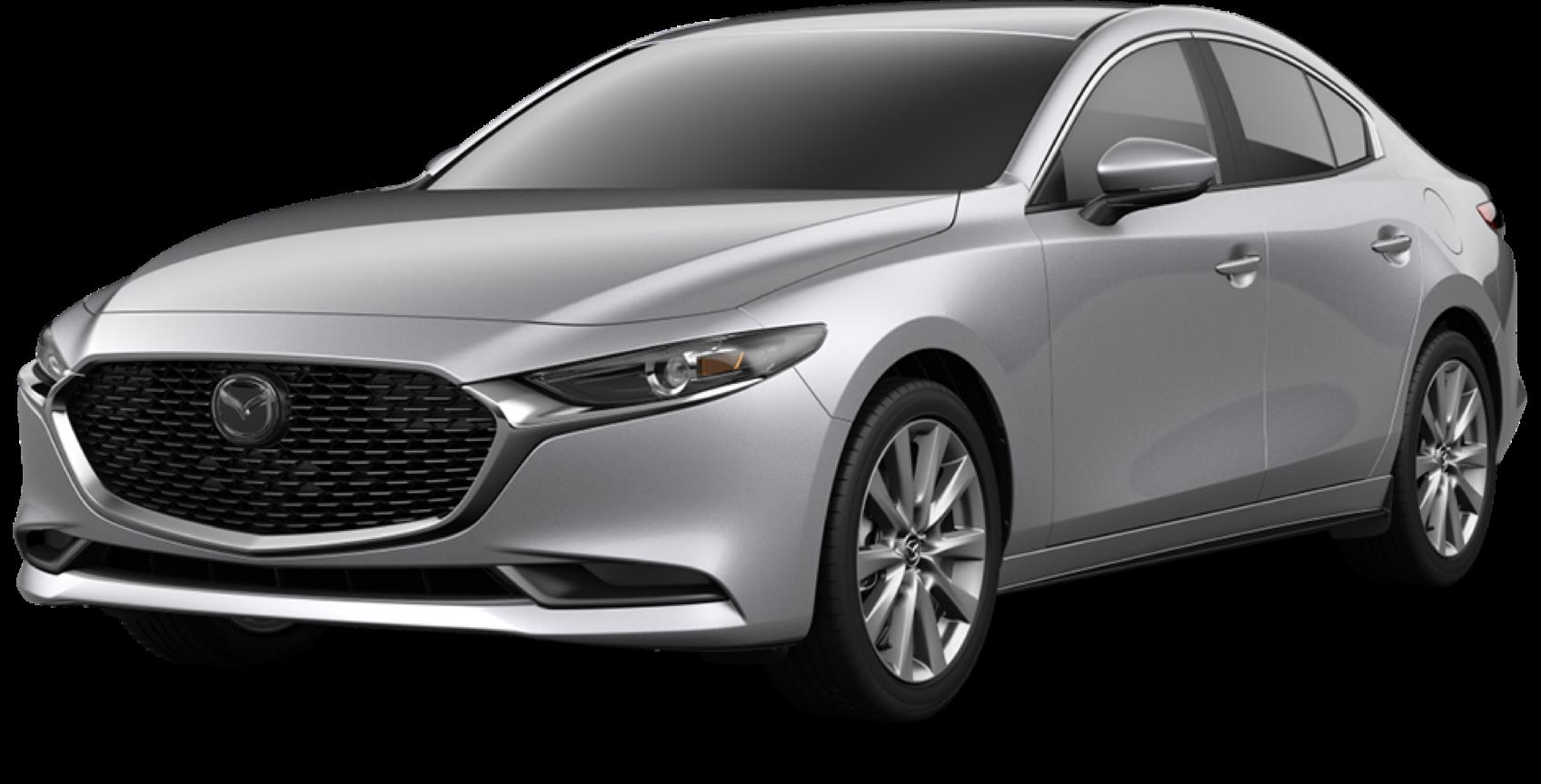 2021 Mazda3 Sedan, Sonic Silver Metallic