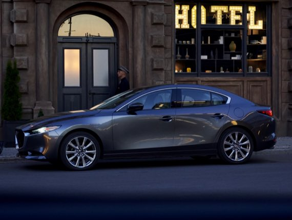 2021 Mazda3 Sedan, THE NEW TURBO SEDAN: FOR THE REFINED PALATE