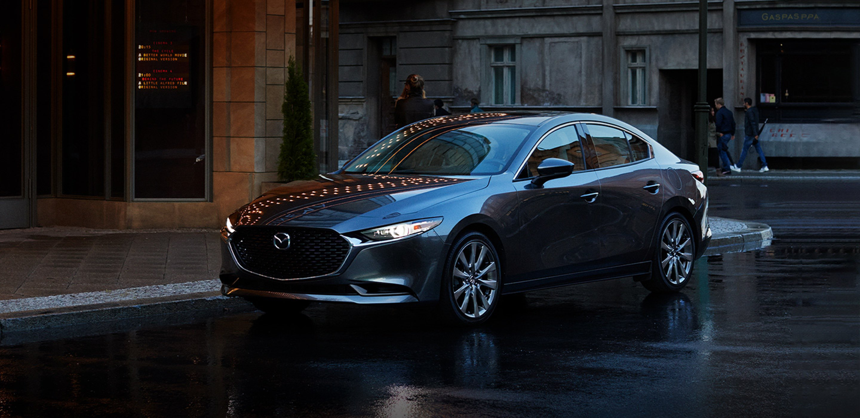 2021 Mazda3 Sedan, HATCHBACK'S SUAVE ALTER EGO