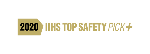 2020<br>IIHS TOP SAFETY PICK+