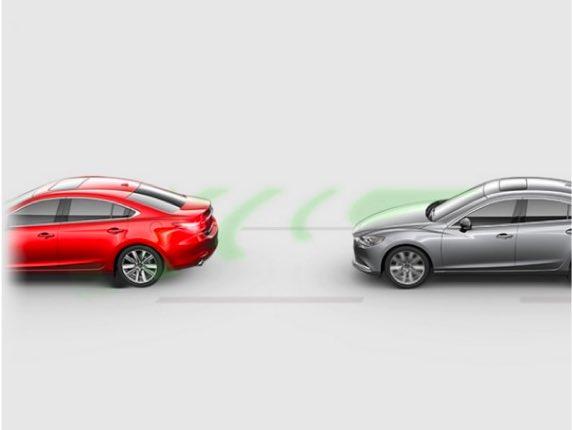 2021 Mazda6, SMART BRAKE SUPPORT