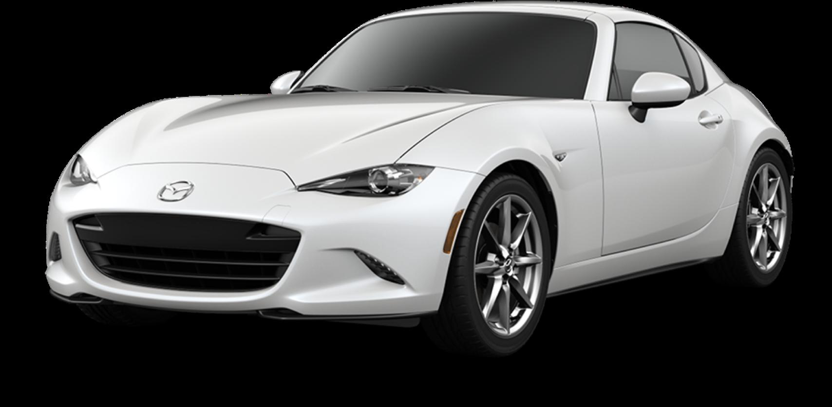 2021 Mazda MX-5 Miata RF, Snowflake White Pearl Mica