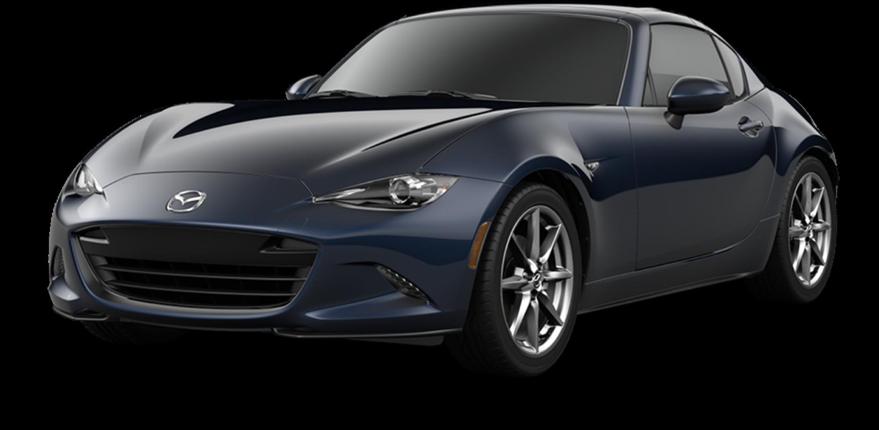 2021 Mazda MX-5 Miata RF, Deep Crystal Blue Mica