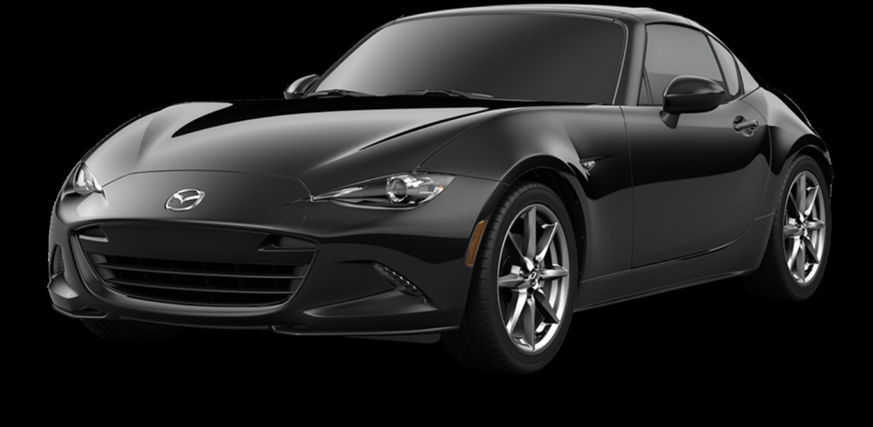 2021 Mazda MX-5 Miata RF, Jet Black Mica