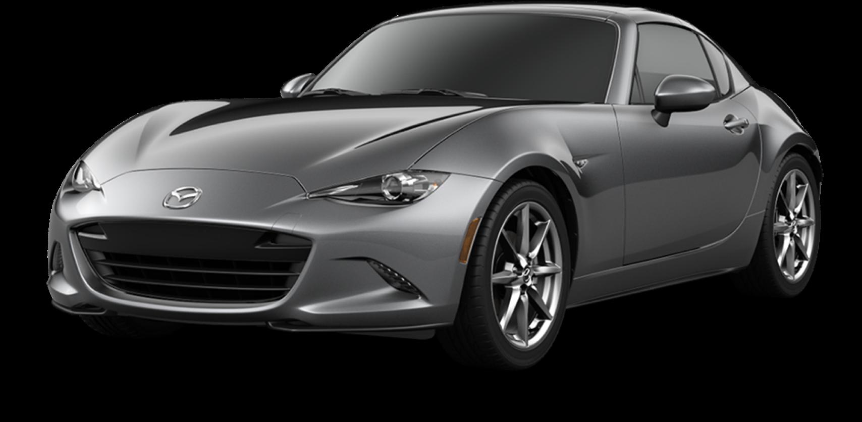 2021 Mazda MX-5 Miata RF, Machine Gray Metallic