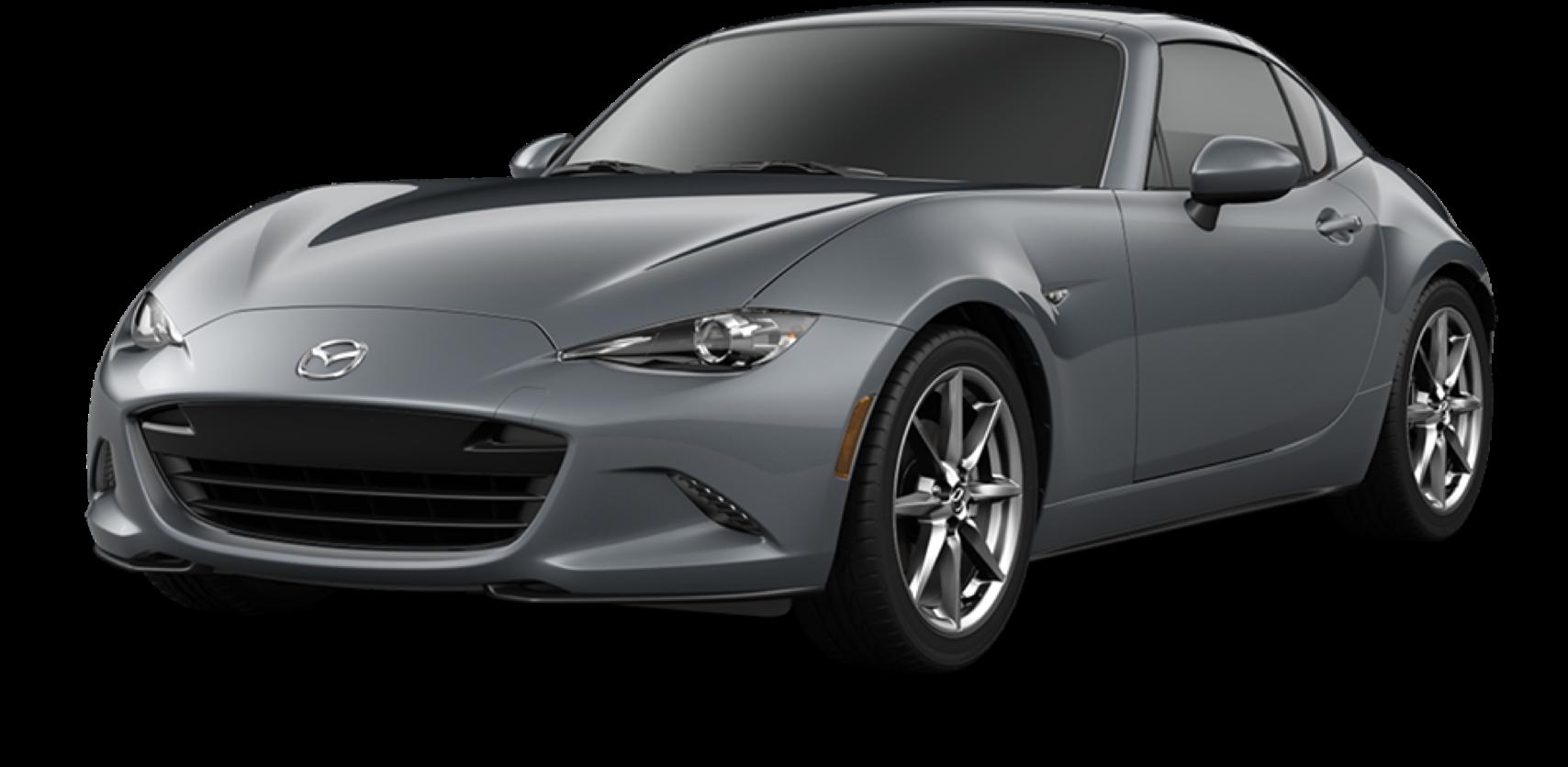 2021 Mazda MX-5 Miata RF, Polymetal Gray Metallic