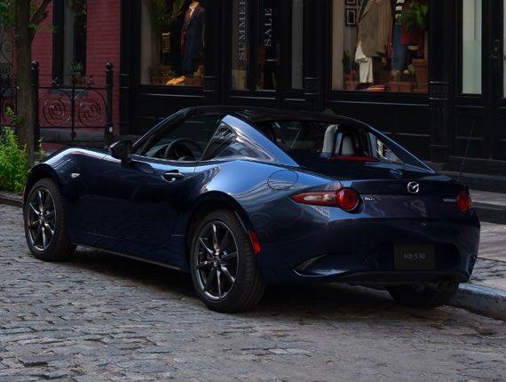 2021 Mazda MX-5 Miata RF, DESIGNED TO SEDUCE. ENGINEERED TO ASTOUND.